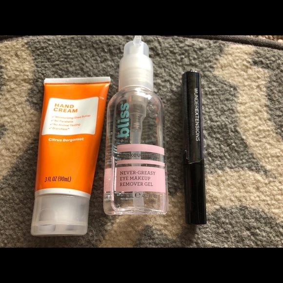 Other - Mascara, hand cream, eye makeup remover